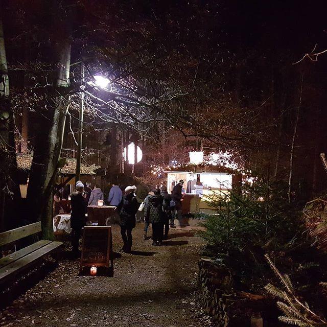 Waldweihnacht In Halsbach Ein Besonderer Weihnachtsmarkt