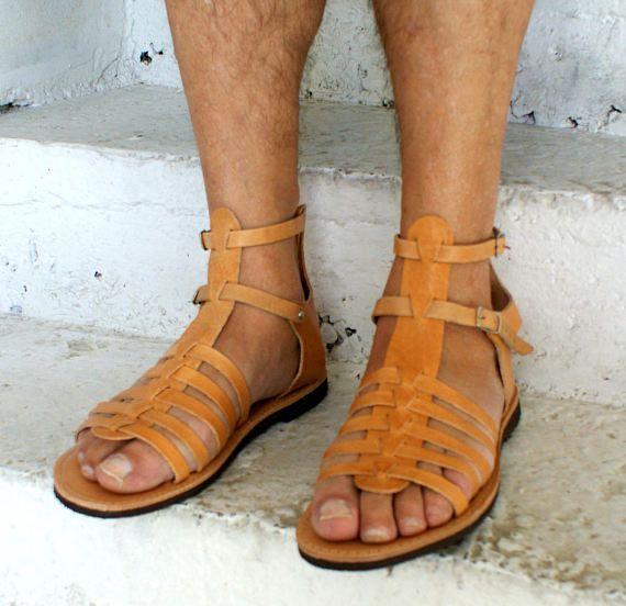 7dda495bca5 ADONIS men leather sandals  men Greek leather sandals  Gladiator sandals   mens ancient grecian sandals men roman sandals  men strappy sandal