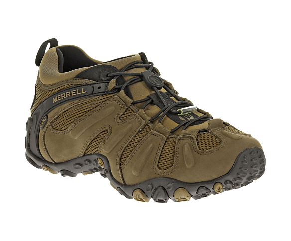 Men - Chameleon Prime Stretch Waterproof - Canteen | Merrell Size 12