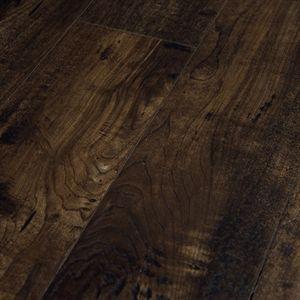 Show Details For Bausen Napa Valley Smoke Almond Laminate 5 1 2 Dark Brown Laminate Wide Plank Waterproof Flooring Flooring Hardwood