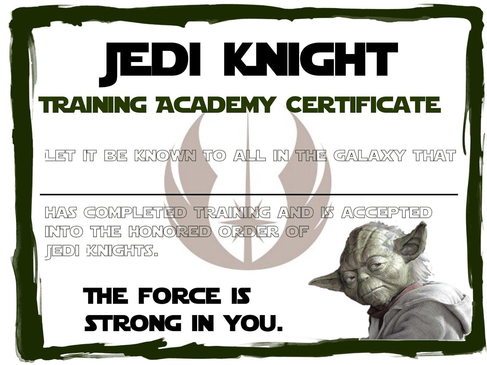jedi training academy graduation certificate printable star wars 24974d35c2cf141ad2f3a67df8205fa5 523402787927621257 free jedi training certificate