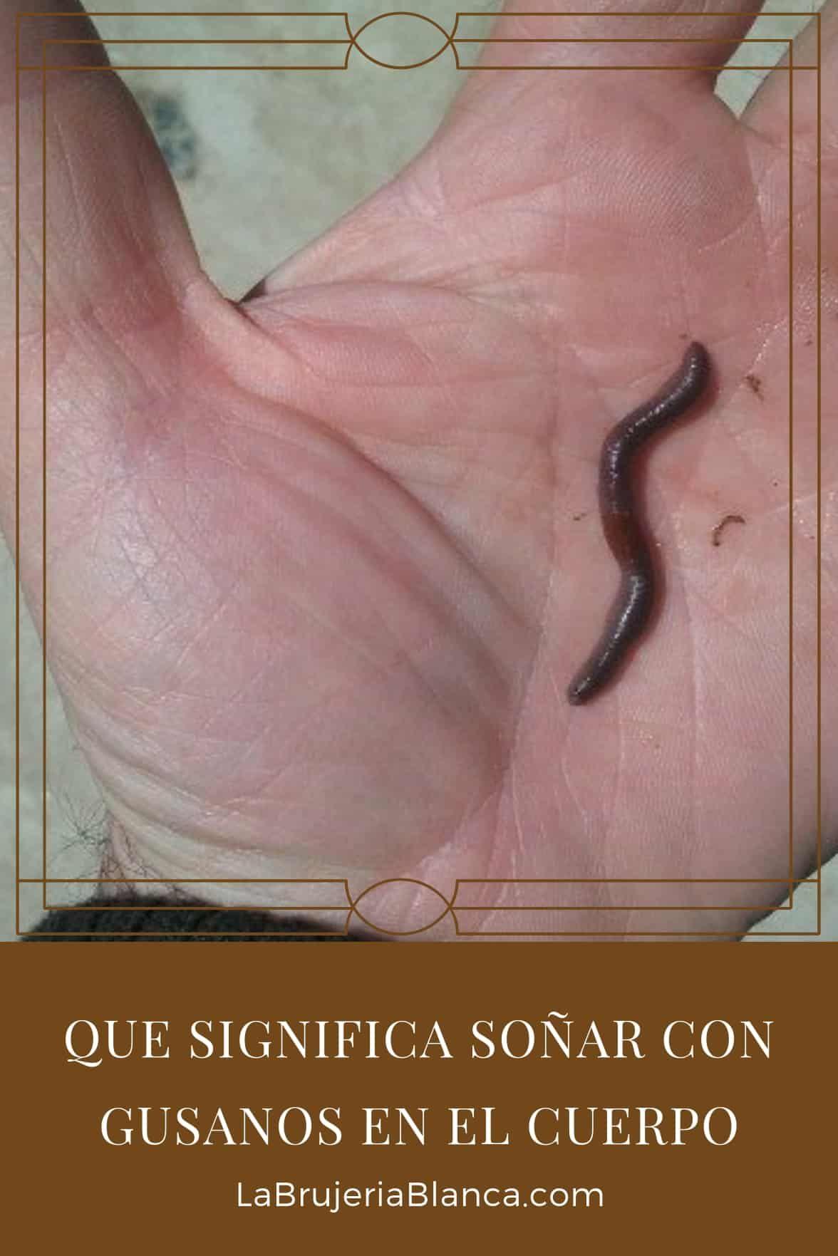 brujeria gusanos en el cuerpo