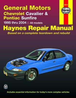 chevrolet cavalier pontiac sunfire haynes repair manual 1995 2005 rh pinterest com 1995 Chevrolet Cavalier Parts Used 1995 Chevrolet Cavalier Comparisons