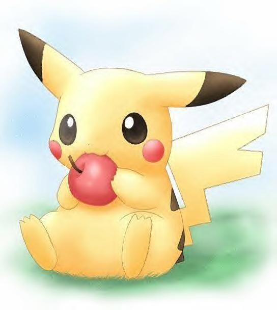 Cutest Pokemon Photo: pikachu