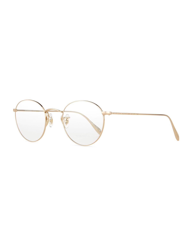 Coleridge Round Optical Frames, Silver - Oliver Peoples | *Vision ...