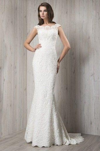 Suknia ślubna Ecru Fularażywczyk R38 Koronka Wedding Dresses