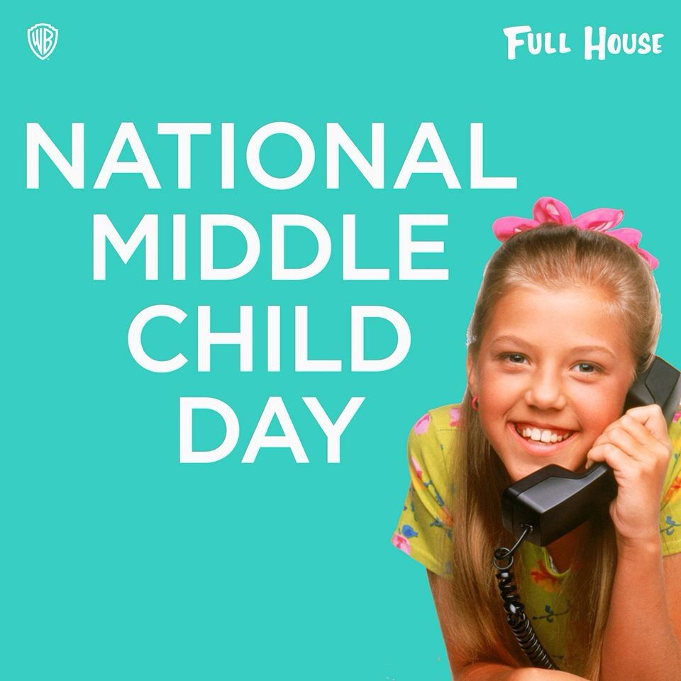 August 12--Middle child day