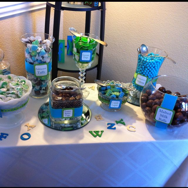 Baby Shower Candy Bar! This Is Going To Be My Spot Lol