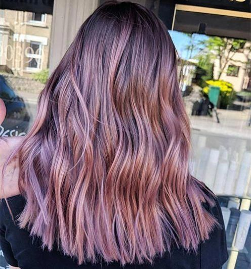 35 Rose Brown Hair Shades That Will Inspire You To Visit The Salon