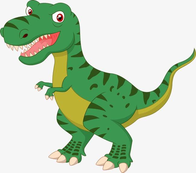 Cartoon Dinosaur, Dinosaurio, Color, Dinosaurio Verde Imagen PNG ...