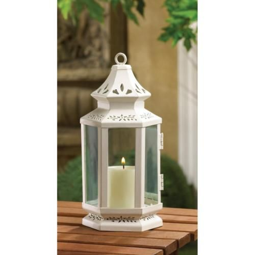 15 Set Victorian Style Candle Lantern Wedding Table Centerpieces