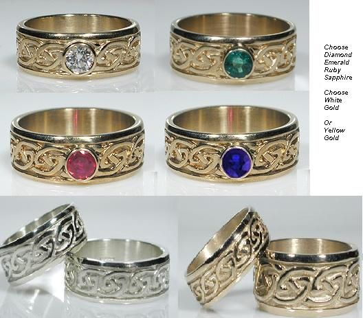 celtic wedding rings and bands - Scottish Wedding Rings