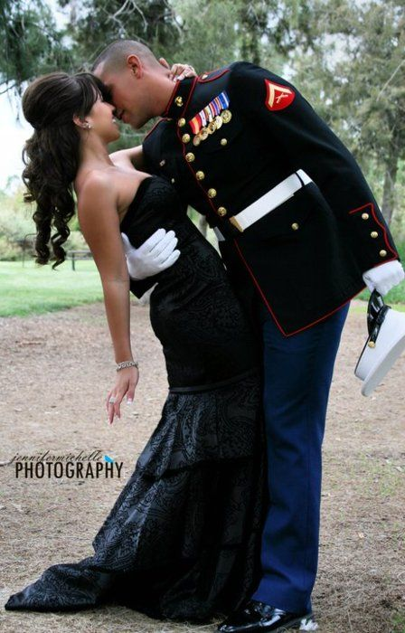 Marine corps ball wife naked