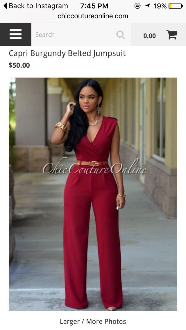b4151b567258 Red jumpsuit