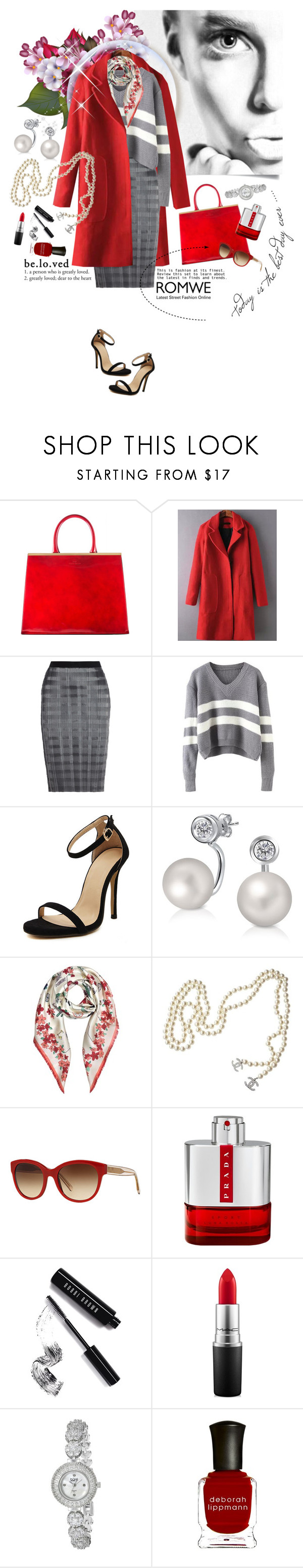 """Today is the Best Day Ever"" by gorgeautiful ❤ liked on Polyvore featuring Alexander Wang, Bling Jewelry, Tory Burch, Chanel, Burberry, Prada, Bobbi Brown Cosmetics, MAC Cosmetics, bürgi and Deborah Lippmann"