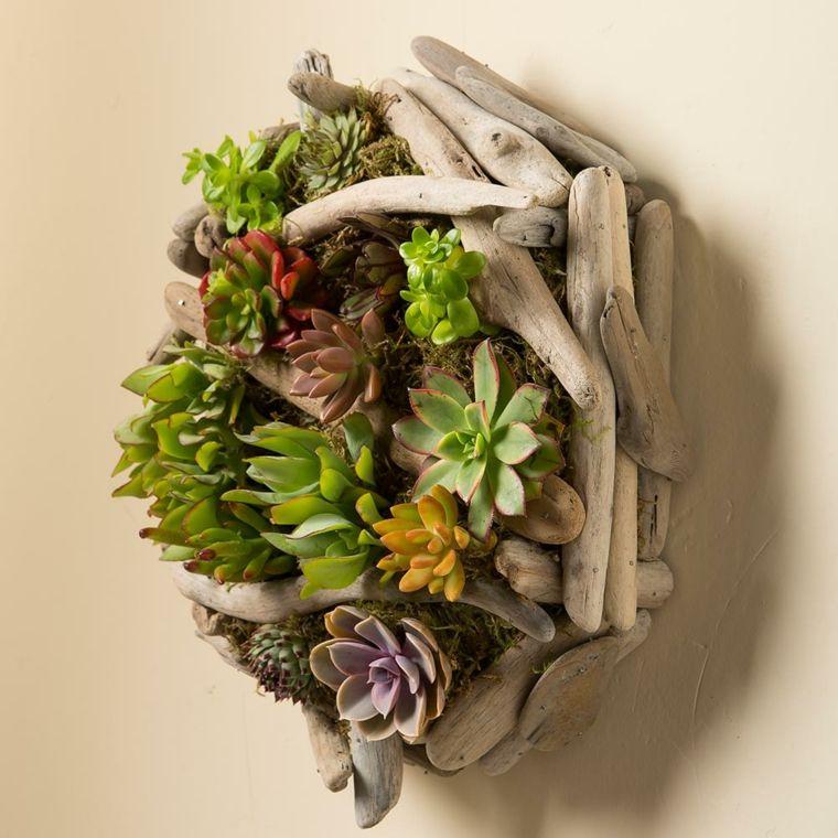 marco de madera de deriva   Jardín   Pinterest   Jardín vertical ...