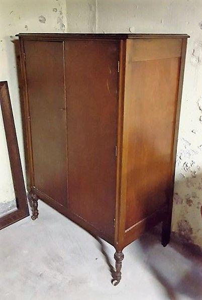 Lane cedar hope chest, vintage or antique wardrobe cabinet, large ...