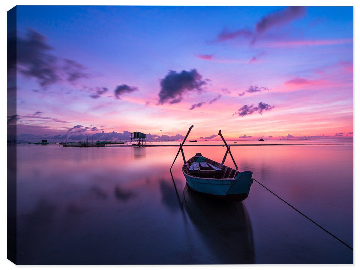 Photo of Serenity on the Water – Canvas Art Print