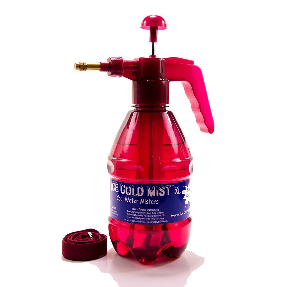 Personal Bottle Misters 1.5L XL Maroon Bottle