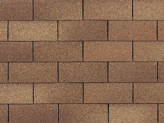 Desert Tan Brick Texture Shingling Roofing