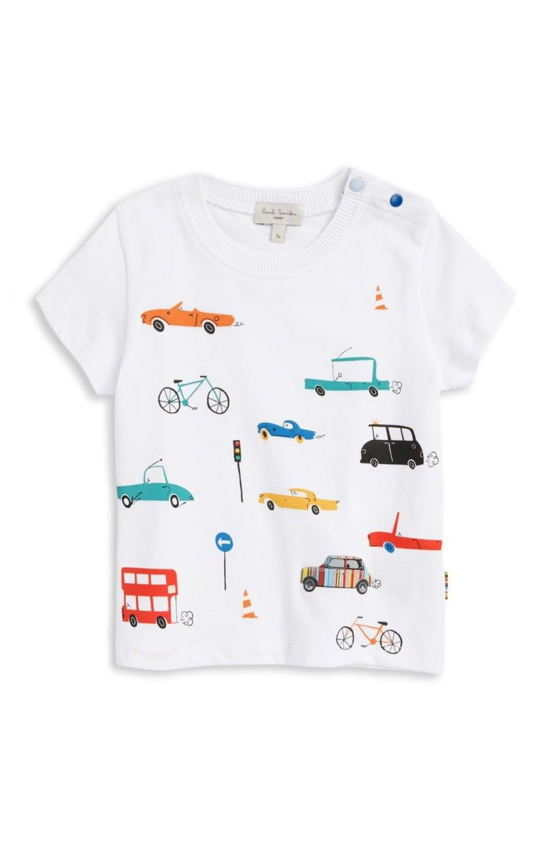 Paul Smith Junior Print T Shirt (Baby Boys | Kinderkleidung