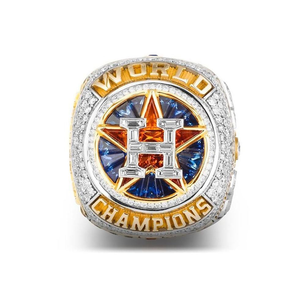 Houston Astros Ring Championship Ring Replica Official Version George Springer Altuve Correa Custom Name 4 Styles 50 Mlb World Series Astros World Series
