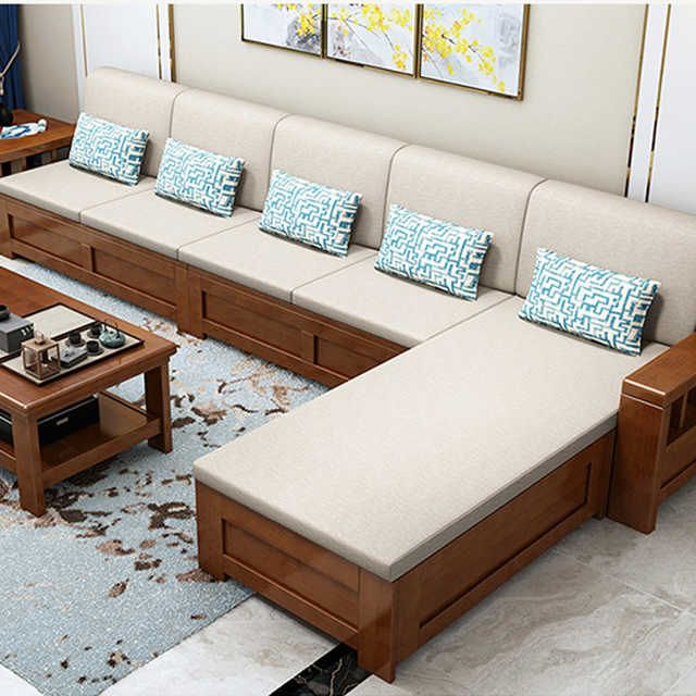 Source Double Bunk Wood Folding Wooden Sofa Bed Modern Sectional Design Corner Sofa Fabric Sectional Ho In 2020 Wooden Sofa Designs Wooden Sofa Set Designs Wooden Sofa