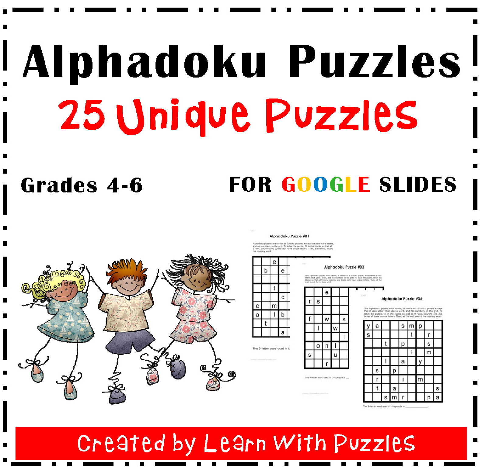 Google Ready Alphadoku Puzzles Gr46 Distance Learning
