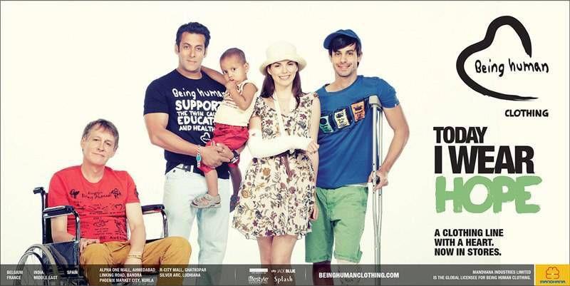 22555a9422 Salman Khan Being Human Clothing Stores Photos
