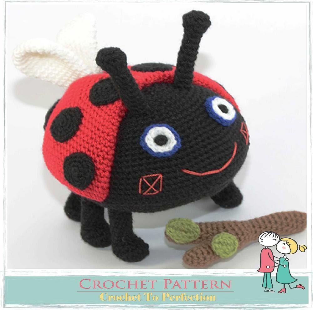 Gaston ladybird amigurumi pattern amigurumi ladybug and crochet gaston ladybird amigurumi pattern bankloansurffo Choice Image