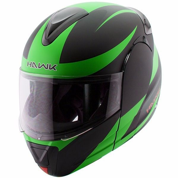 c95fefe4 Hawk 6661 Raptor Flat Green Black Modular Dual Visor Full Face Motorcycle  Helmet #Hawk #Motorcycle