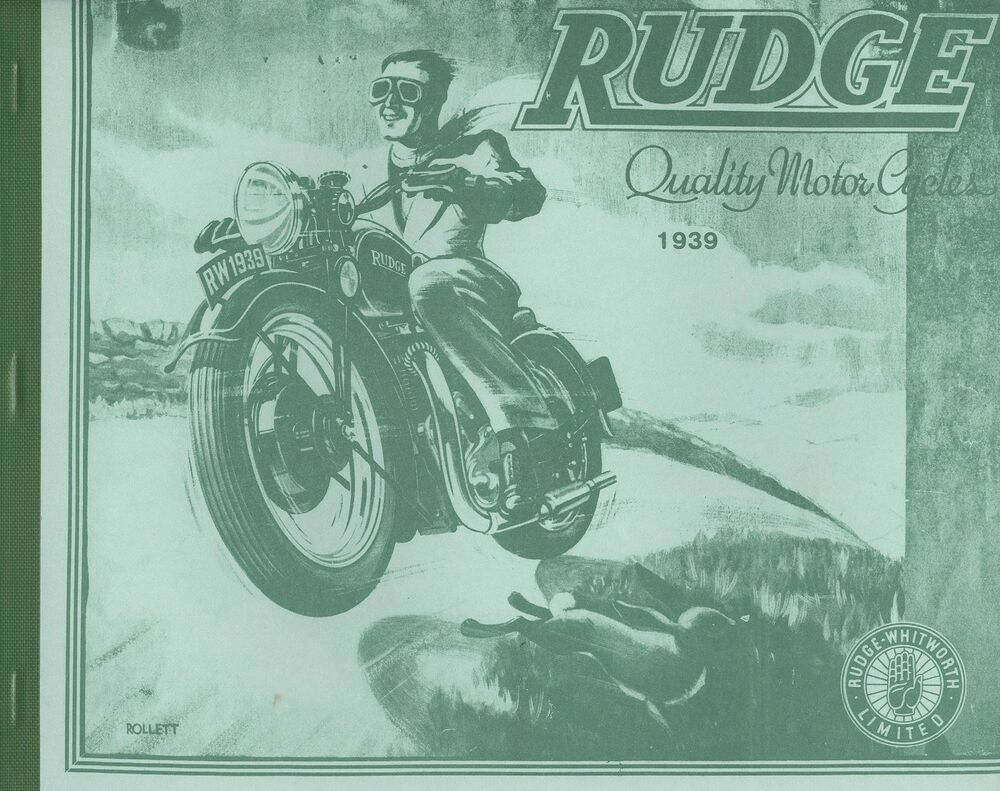1939 RUDGE CATALOGUE