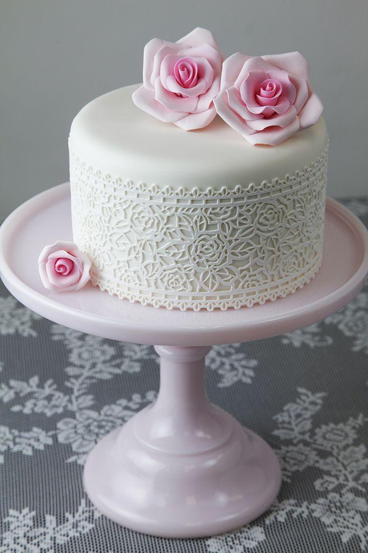 Alan S Rose Lace Cake Cakes Rose Cake Cake Cake Lace