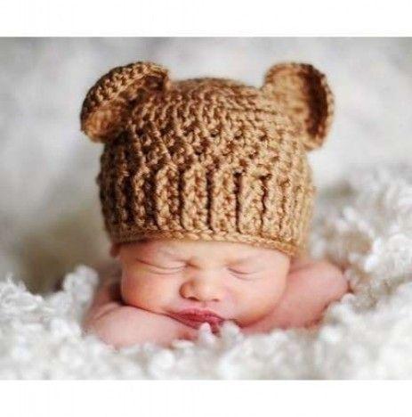 Newborn Baby Bear Hat Knit Pattern The Best Bear Of 2018