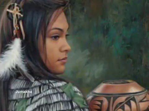 Native American Music - ( Her Wolf Spirit) - YouTube