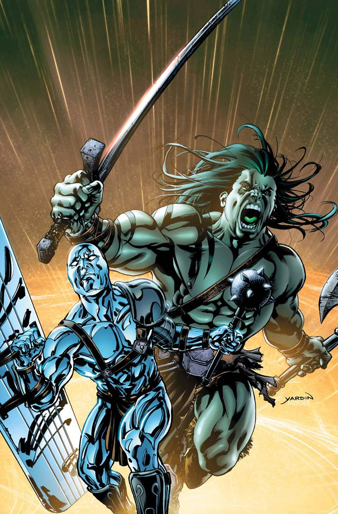 #Skaar #Fan #Art. (Skaar: Son of Hulk #8) By: David Yardin. ÅWESOMENESS!!!™