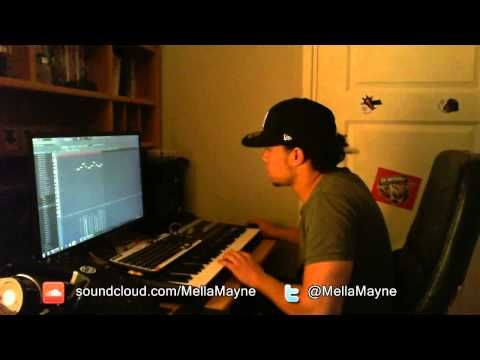 MellaMayne makes a neo-soul smooth hip-hop beat in FL Studio
