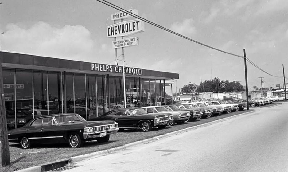 Used Car Dealerships In New Orleans >> Phelps Chevrolet 1967 | Chevrolet dealership, Chevy dealerships, Chevrolet parts