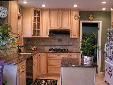 Best Baltic Brown Granite Tile Backsplash Traditional Kitchen 400 x 300