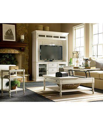 Sensational Sag Harbor White Table Collection In 2019 Living Room Evergreenethics Interior Chair Design Evergreenethicsorg