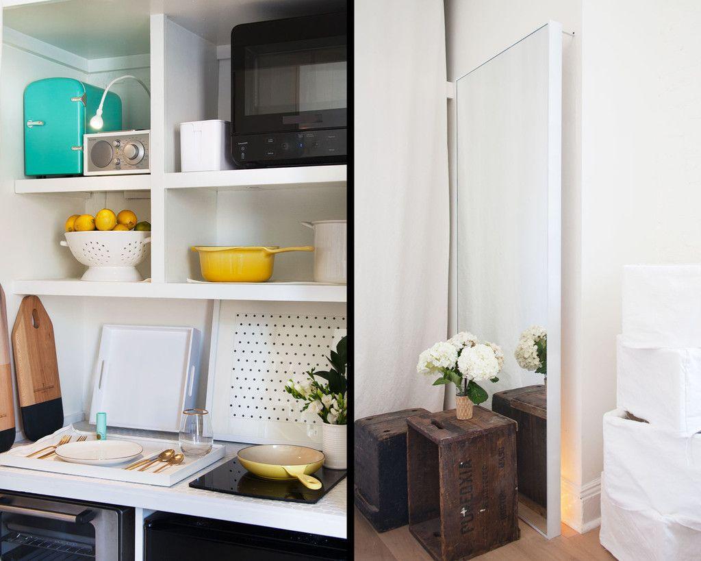 Tiny Manhatten apartment via Lonny