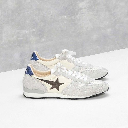 Buy Mens Golden Goose HAUS HALLEY Sneakers Haus GGDB Shoes H30MS362B4 Sale Brand