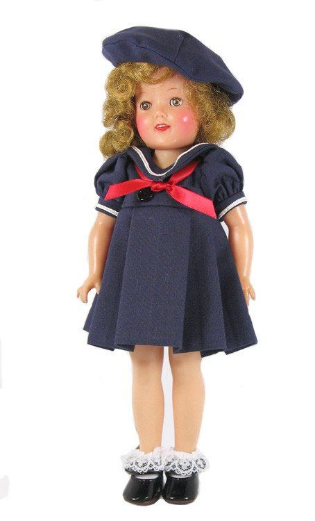 Shirley Temple Styled Sailor dress