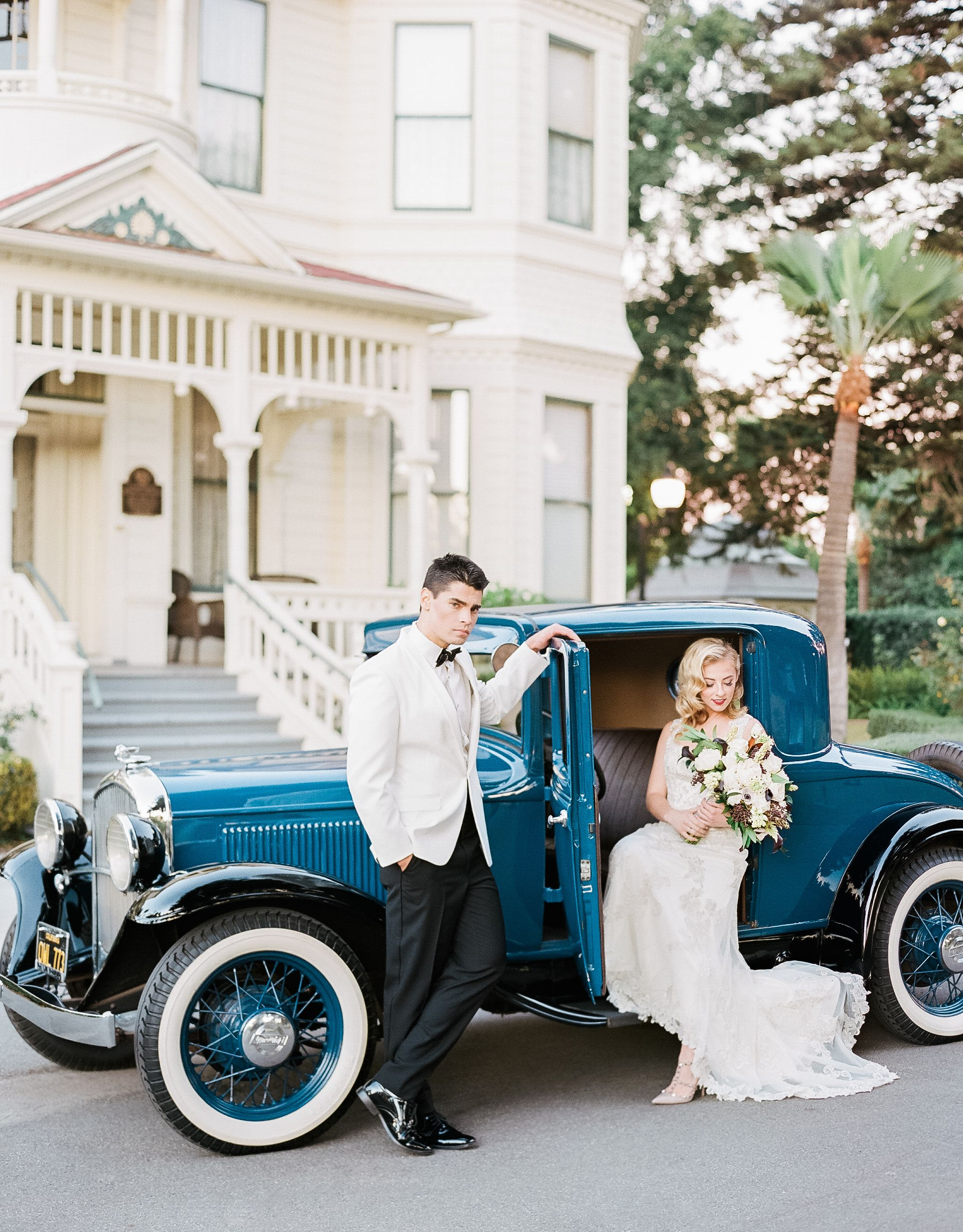 Vintage Glamour Inspired Wedding Styled Shoot | Steven Leyva ...