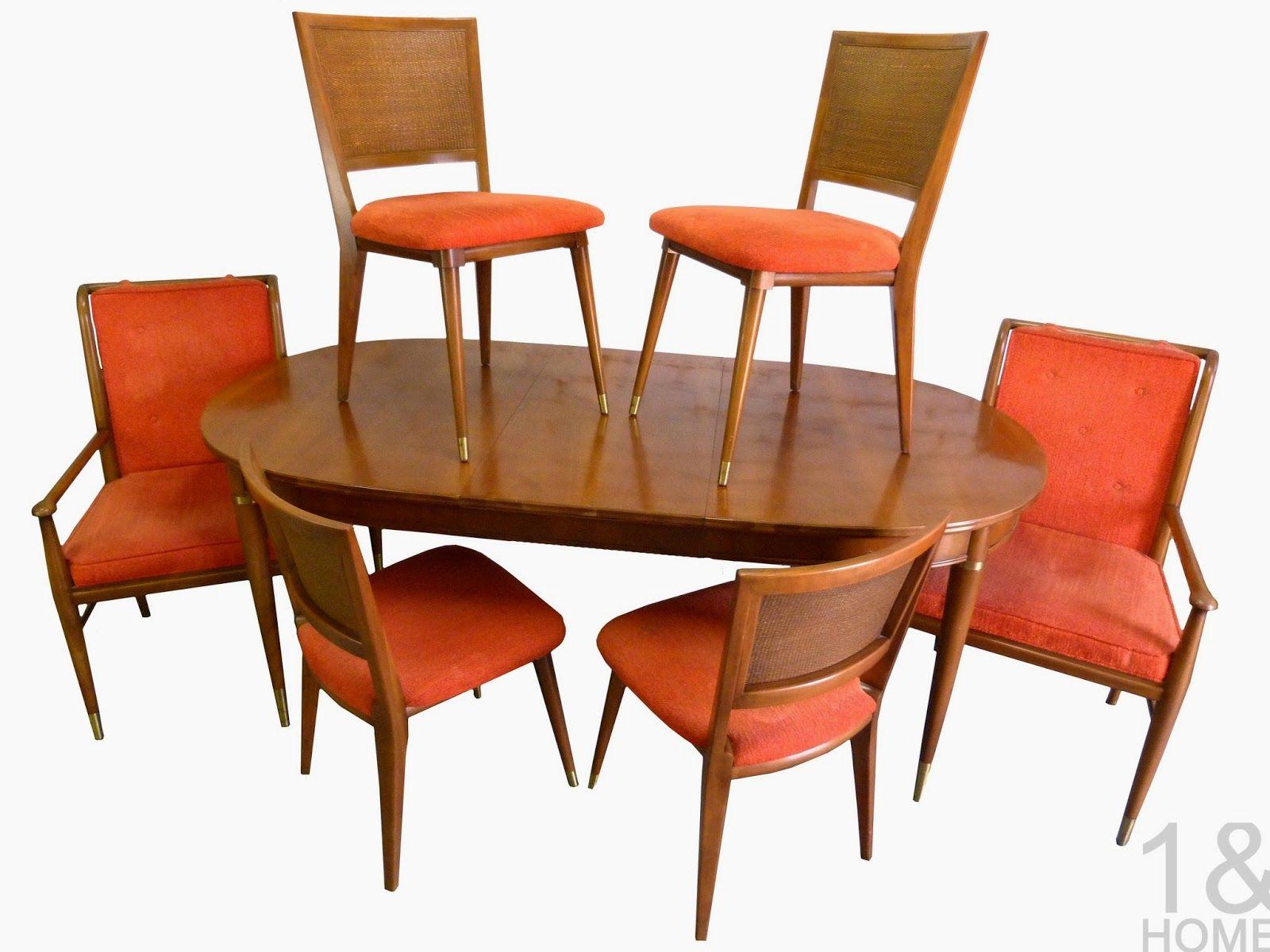 Dining Tables  Widdicomb 50S60S Furniture  Pinterest  60S Glamorous Danish Modern Dining Room Design Inspiration