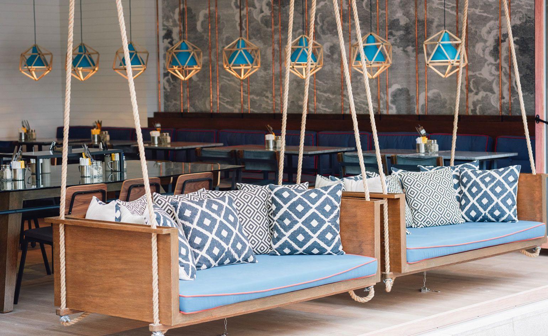 Swing Chair Restaurant Sun Chairs Loungers Sofa Ikea Blue Design Classified