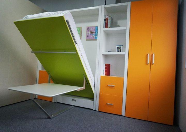schrank bett hochbett bed wall folding walls und bed