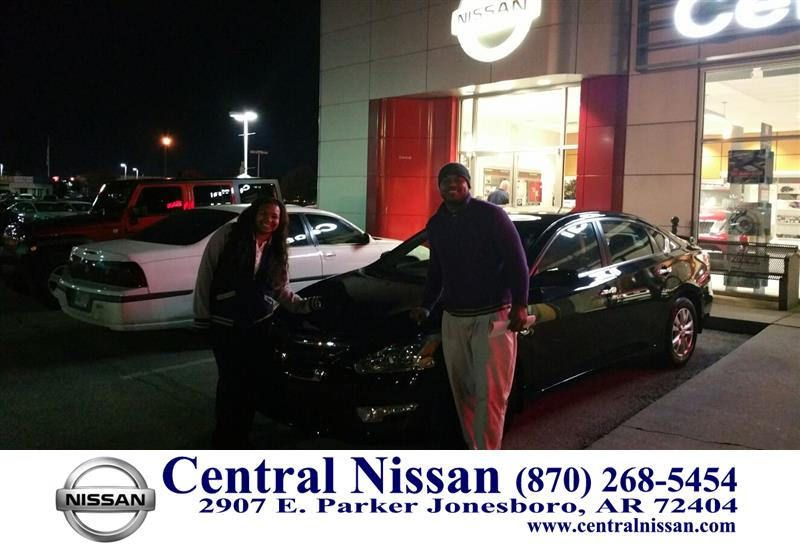 To Johnathon From Bobby King At Central Nissan!