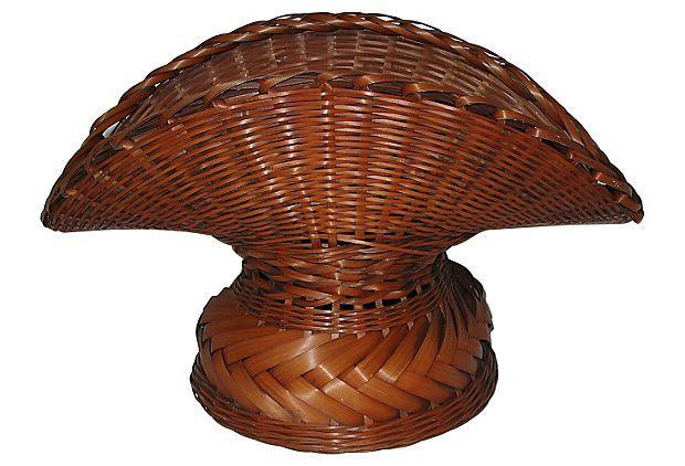Japanese Woven Flower Basket