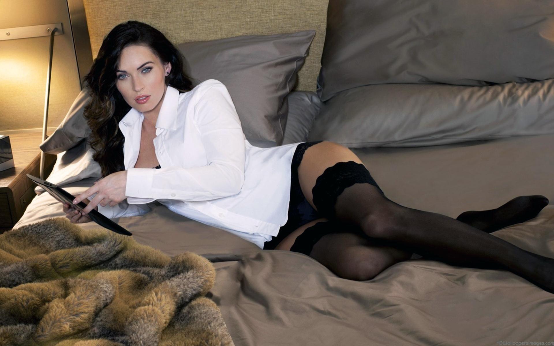 pantyhose Megan in